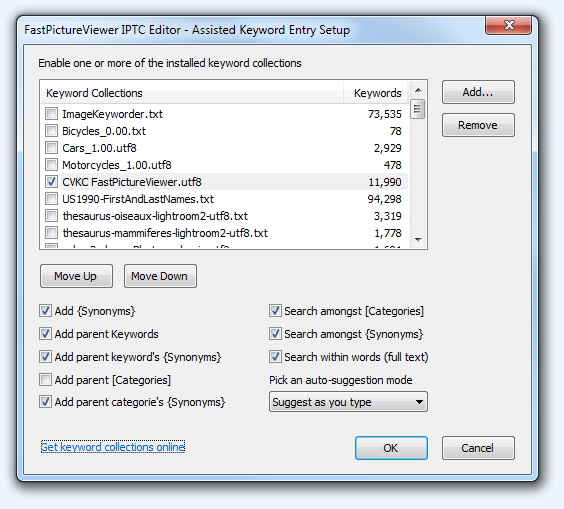 IPTC Editor Hierarchical Keywords Setup